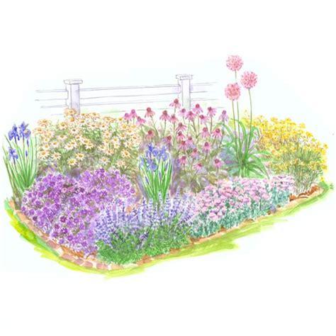 beginner garden for sun