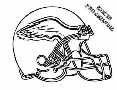 Coloring Michigan Pages Wolverines Football Helmet Printable