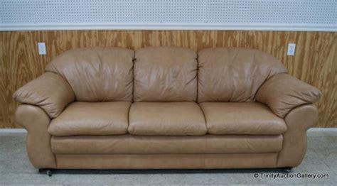 Divani Chateau D 39 Ax Italian Leather Sofa