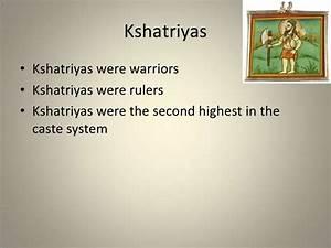 Ancient indian caste system