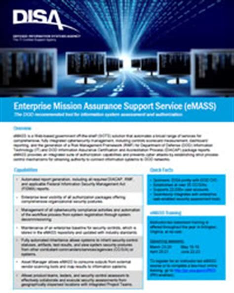 disa enterprise help desk disa enterprise mission assurance support service emass