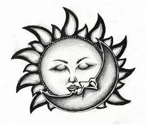 太阳神图腾纹身手稿第4页