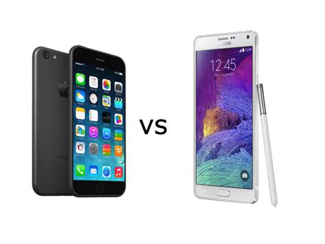 which is better galaxy or iphone iphone 6 plus vs galaxy note 4 which is better it pro