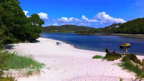 beach holiday  scotland uk hidden secret arisaig