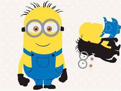 Minion Svg Minions Cut Despicable Clipart Clip