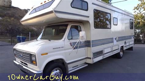 Rv Motorhome Camper Gulf Stream Ultra Coach Campervan Ford