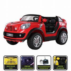 Voiture Electrique Enfant : voiture lectrique pour enfant 12v mini beachcomber avec ~ Nature-et-papiers.com Idées de Décoration