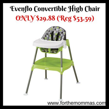 evenflo convertible high chair only 29 88 hot deal ftm