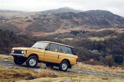 Land Rover To Release Brand New 1978 3door Range Rover