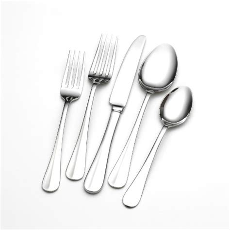 flatware piece brands hartford towle living stainless steel sets amazon overstock payten cambridge tray gold lifetime deals