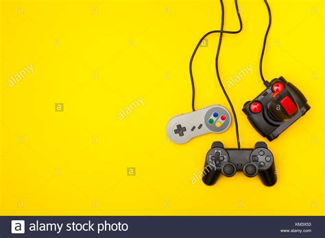 video game controllers stock  video game
