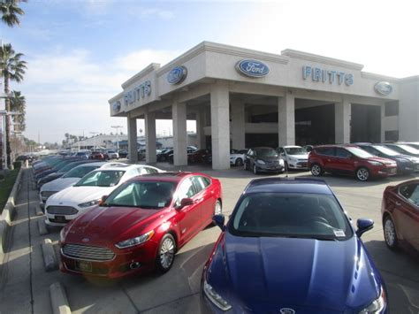 Fritts Ford In Riverside, Ca 92504