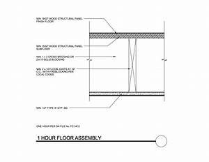 1 hour fire rated floor ceiling assembly integralbookcom With 2 hour floor ceiling assembly