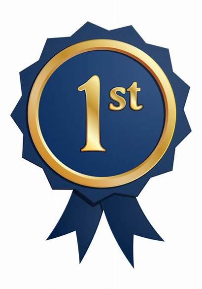 1st Place Ribbon Clipart Medal Badge Transparent
