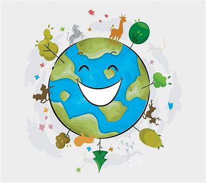 Earth Cartoon Happy Jing Cartoons Genel Fm