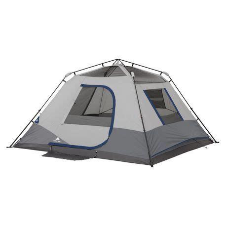 ozark trail 6 person instant cabin tent ozark trail 6 person instant cabin tent walmart canada