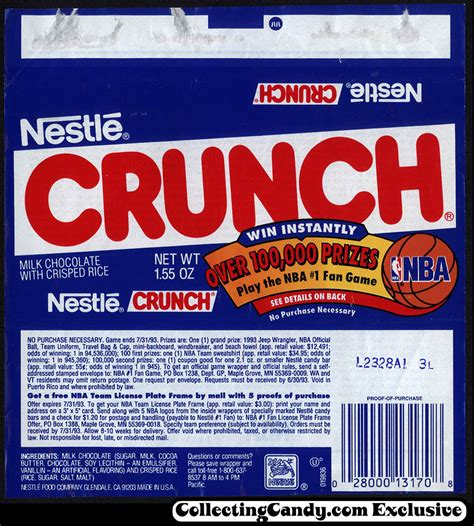 candy wrapper nba finals 7 tonight nba related today collectingcandy