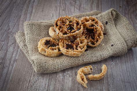 cuisine des pouilles cartellate gâteaux des pouilles recette de la cuisine