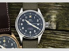 SIHH 2019 IWC Pilot's Watch Automatic Spitfire IW326801