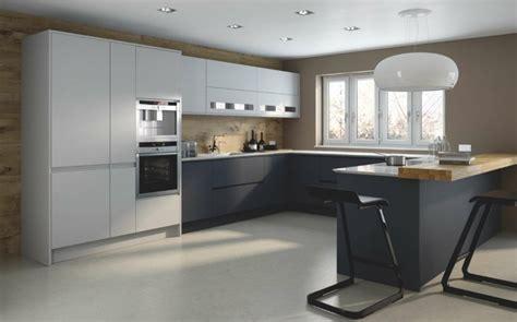 Moderne Häuser U Form by Moderne K 252 Che In U Form Kochkomfort Inmitten