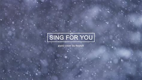 sing for you exo quot sing for you quot piano cover 피아노 커버 exo 엑소
