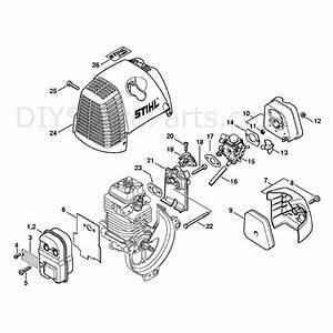30 Stihl Fs 130 Parts Diagram