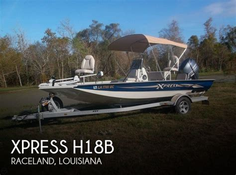 Used Xpress Boats For Sale In Louisiana by For Sale Used 2014 Xpress H18b In Raceland Louisiana