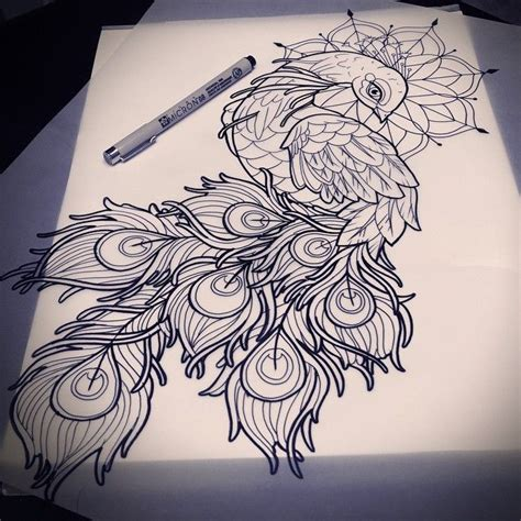 colorful peacock feather tattoo meaning designs check