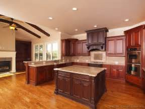 kitchen island cherry pictures of kitchens traditional medium wood kitchens