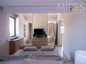 petite chambre sous les toits avec salle de bains c0793 With petite salle de bain dans chambre