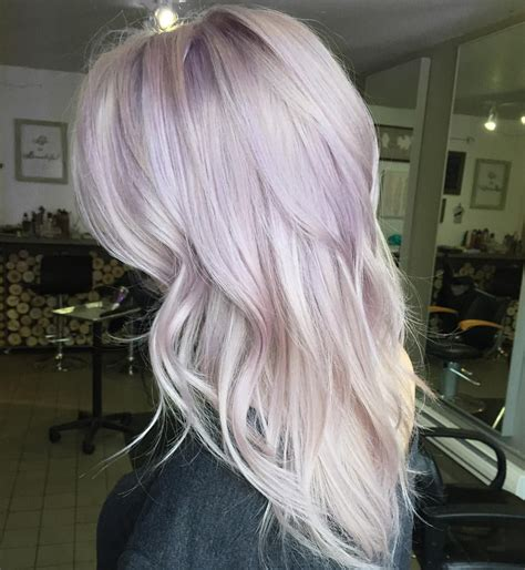 A Touch Of Lilac For This Blonde Beauty Magical Hair