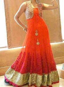 Long Frocks Designs 2013 For Girls – Latest Fashion