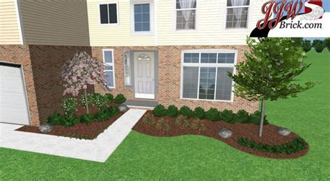 easy front yard landscaping simple  maintenance front yard landscaping