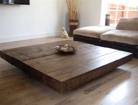The distinct industrial inspiration imbuing this square coffee table make it a stunning addition to set a specific tone in contemporary decors. Coffee Tables Design, Large Size Square Dark Wood Coffee Table Low Short Contemporary Mode ...