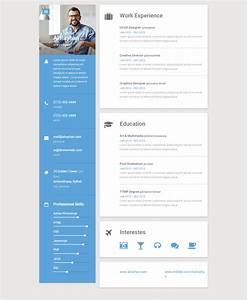25 best resume and cv website templates 2017 responsive With best website for resume templates