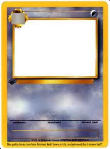 Make Your Own Pokemon Card