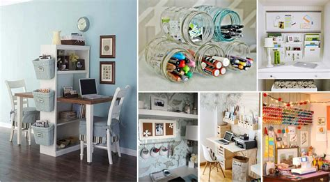 Diy Home Office Organization Ideas Trend