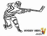 Hockey Pages Coloring Mask Printables Slap Shot Sheet Template Printable Player Cool Sheets Yescoloring Gear sketch template
