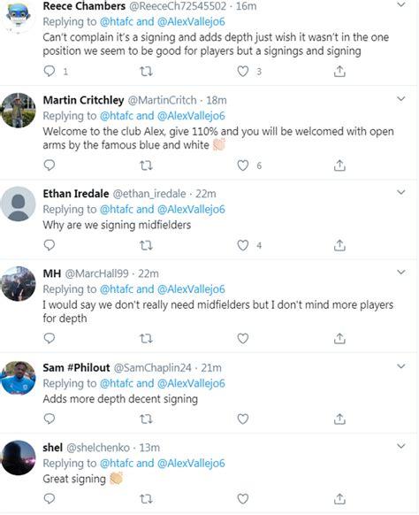 Huddersfield Town fans provide Alex Vallejo signing ...