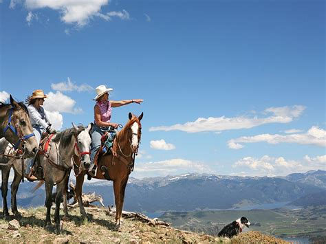 ranch water drowsy granby riding dude colorado horseback vacations inclusive finestluxuryvacations vacation usa equitrekking golfing fishing ice