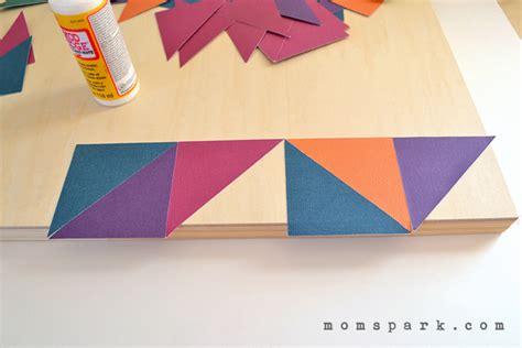 Diy Geometric Wall Art - Elitflat