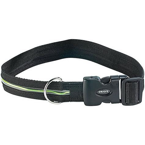 led halsband sicherheits led leucht hundehalsband neon