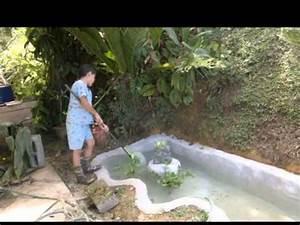 Estanque de jardín YouTube