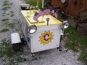 1947 Cushman Ice Cream Scooter For Sale