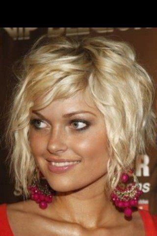 coiffure carre plongeant ondule