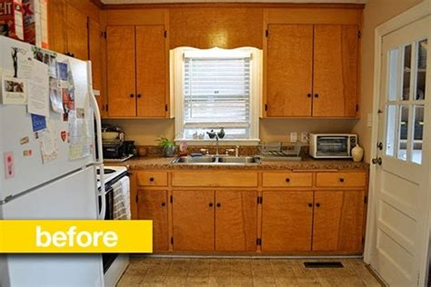 updating kitchen cabinets on a budget diy makeover old kitchen before after a super budget kitchen makeover