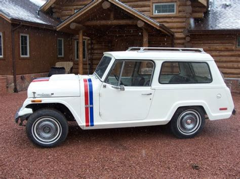 jeep commando hurst 1971 hurst jeepster bring a trailer