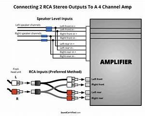 Adding 4 Speakers To A Connect Amp