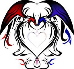 Dragon Heart Tattoo Designs Love