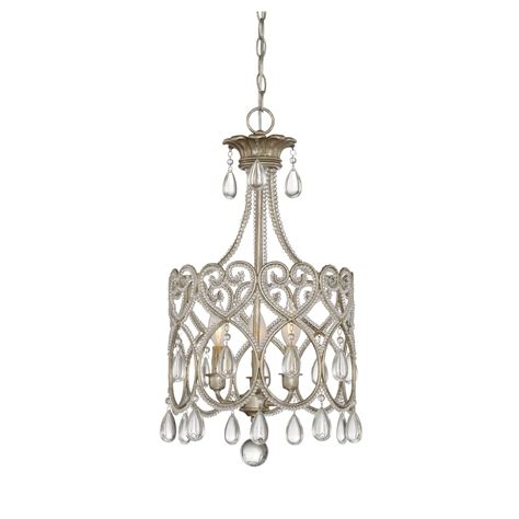 Mini Chandeliers by Savoy House Argentum Three Light Mini Chandelier On Sale